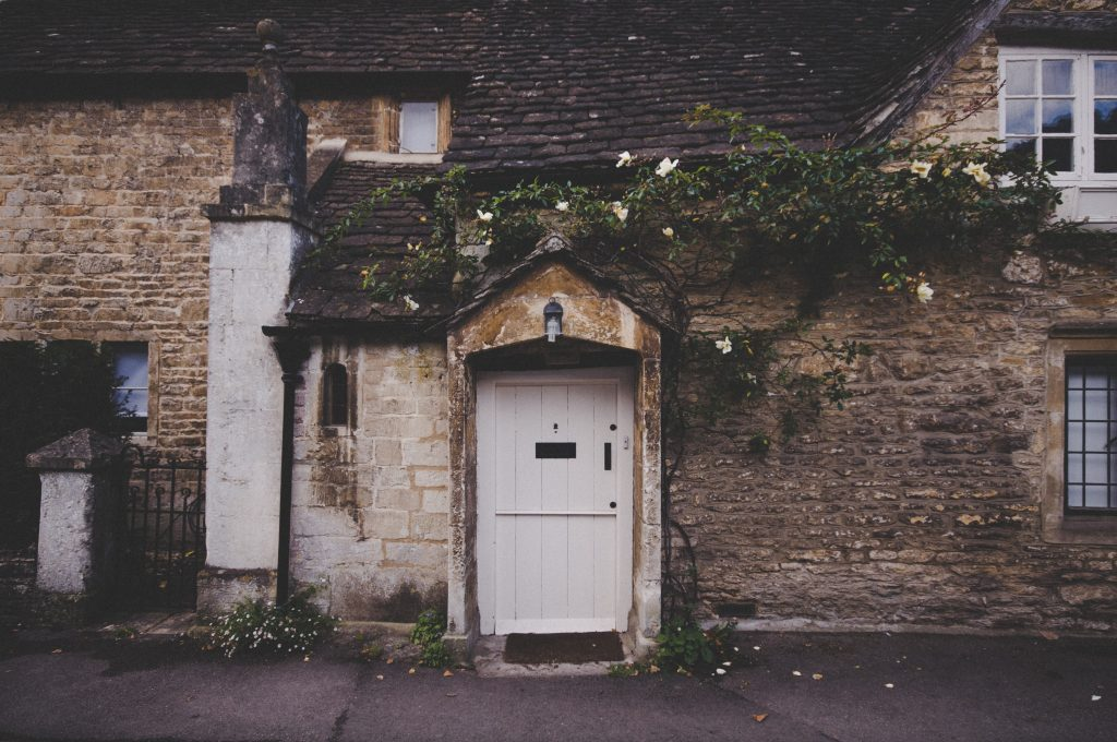 Cotswold Cottage Front Door